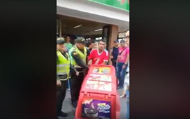 Los vendedores de helados: el nuevo objetivo de la Policia Nacional. Video
