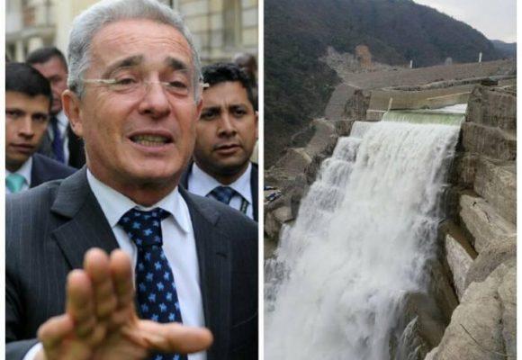 ¿De verdad Uribe propuso más represas en el río Cauca?