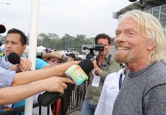 """La """"filantropía"""" de Richard Branson"""