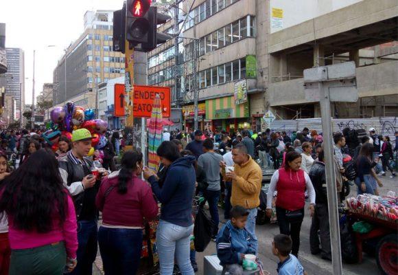 El fascismo espacial se toma el centro de Bogotá