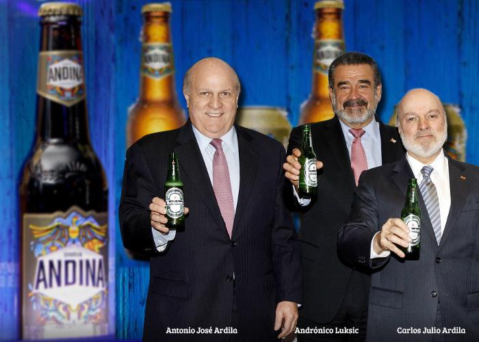Los más ricos de Chile y los Ardila se la juegan con Andina
