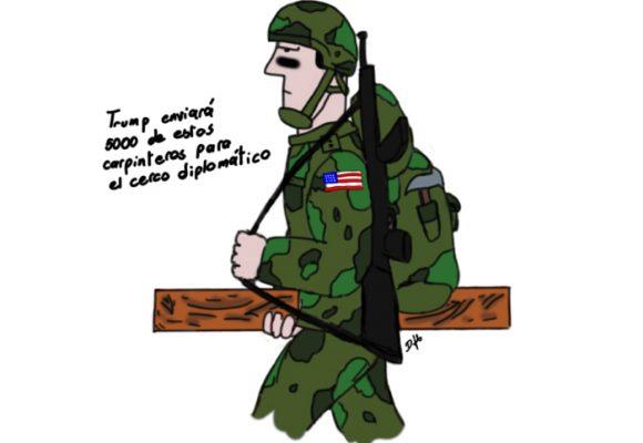 Caricatura: El cerco diplomático de Duque requiere refuerzo(s)