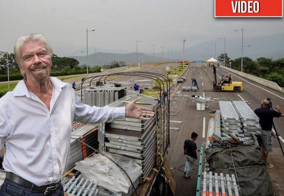 VIDEO. 400 toneladas de equipos para el concierto aterrizan en Cúcuta