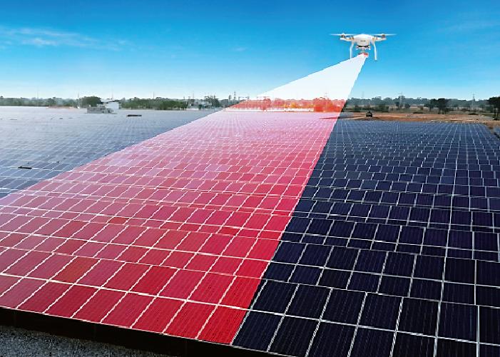 Drones inteligentes, los nuevos aliados de los parques solares fotovoltaicos