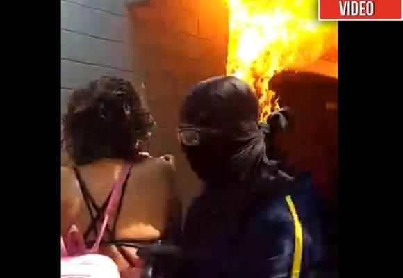 [VIDEO] Capuchos incendian la Universidad del Atlántico
