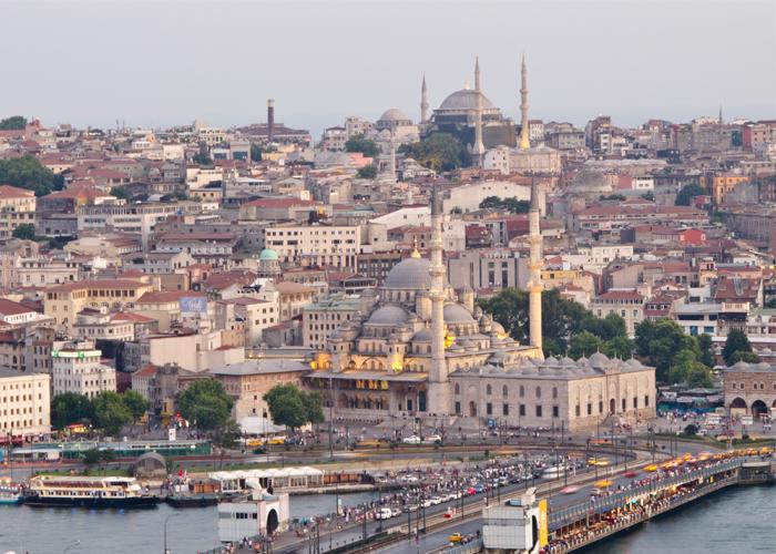 Si la tierra fuese un solo Estado, Estambul sería su capital