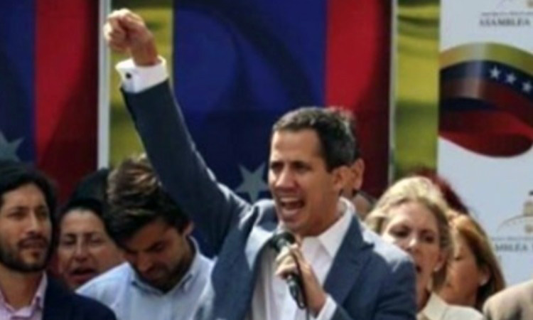 ¿El momento estelar de Juan Guaidó?