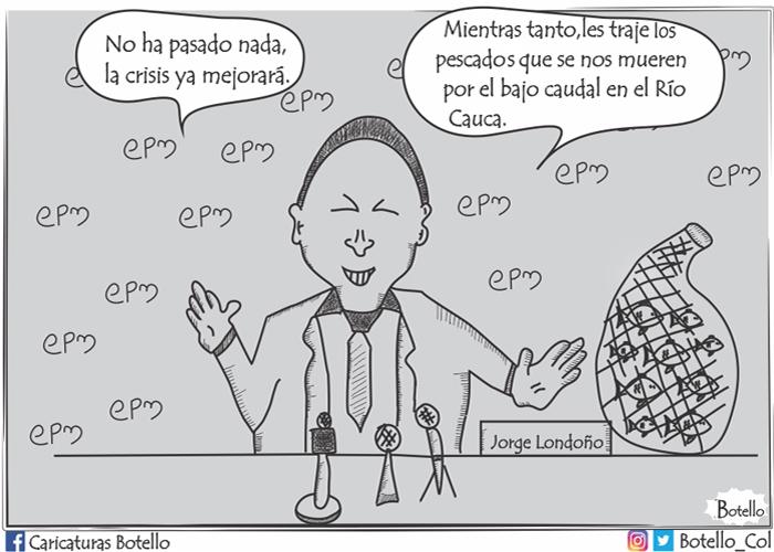 Caricatura: Hidroituango, una crisis anunciada
