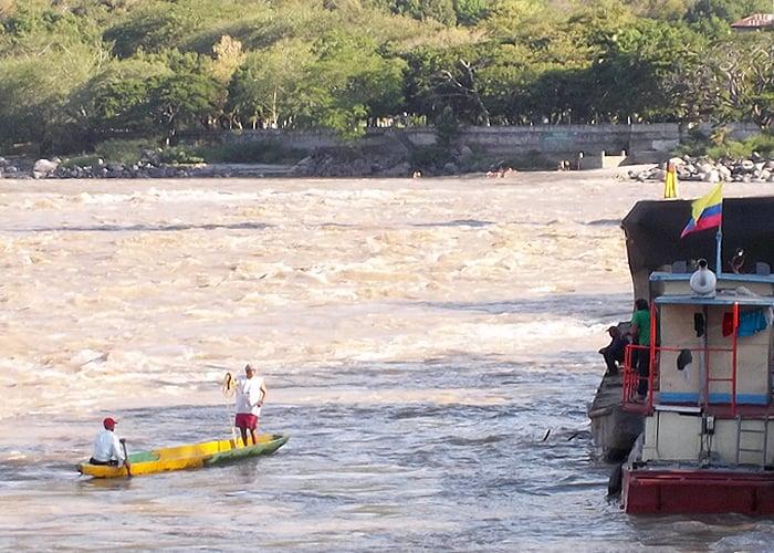 Honda y el río grande de la Magdalena