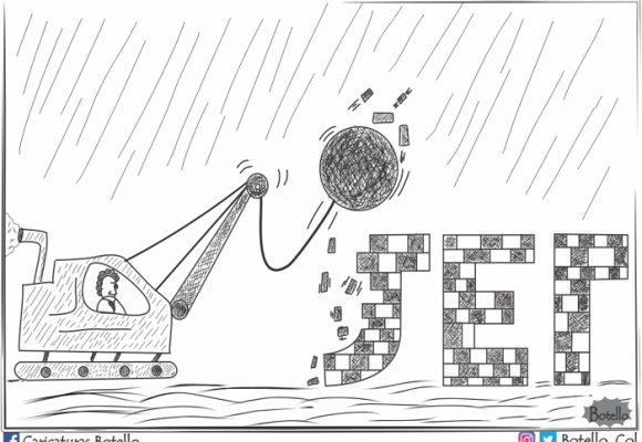 Caricatura: ¿Caerá la JEP?