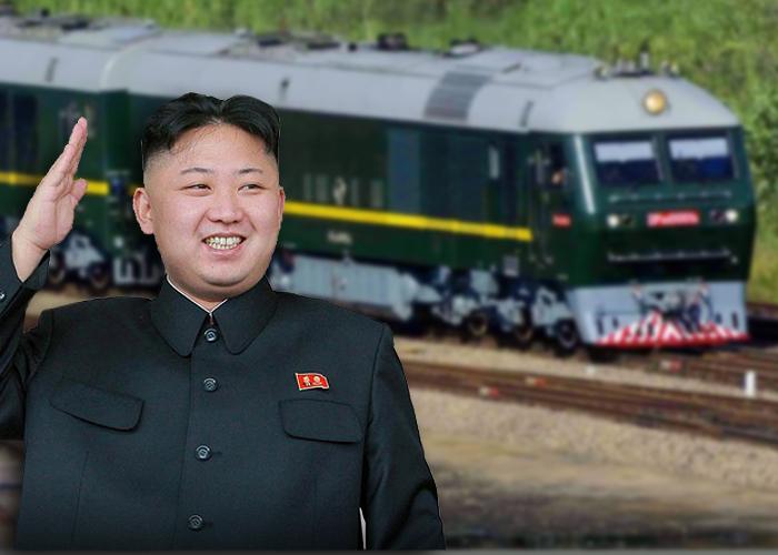 El lujoso e intimidante tren de guerra de Kim Jong-un