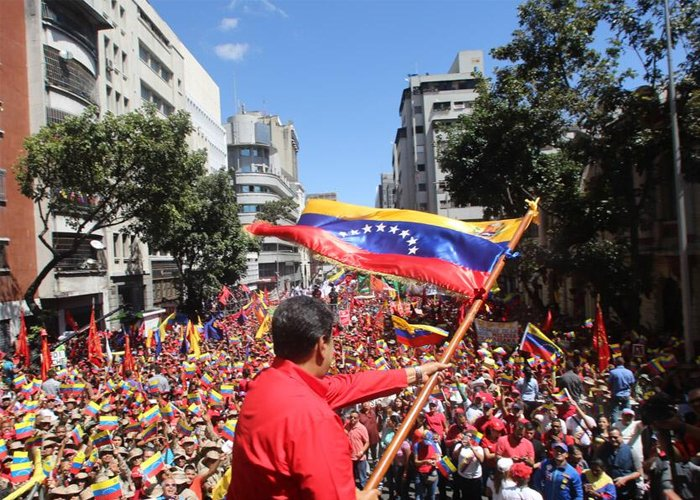 Con Venezuela en el corazón, contra la invasión imperialista