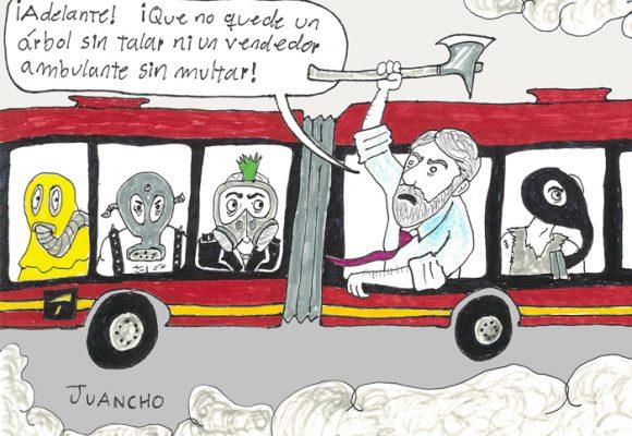 Caricatura: La Bogotá de Peñalosa