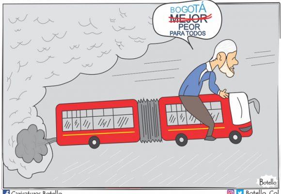 Caricatura: Bogotá, peor para todos