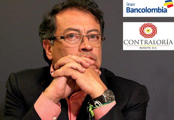 Pugna entre Bancolombia y Contraloría de Bogotá por recursos de campaña de Petro