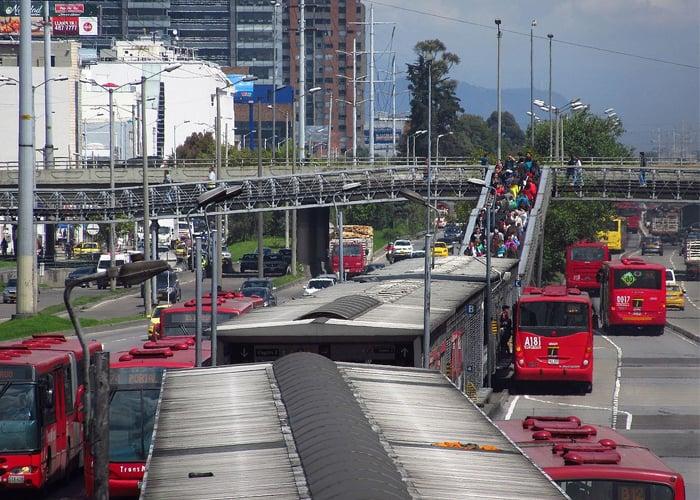 Bogotá, de la escasa movilidad a la inmovilidad total