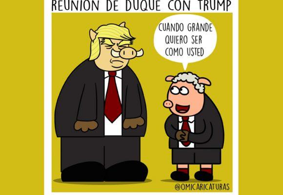 Caricatura: Presidente Trump, cuando sea grande quiero ser como usted