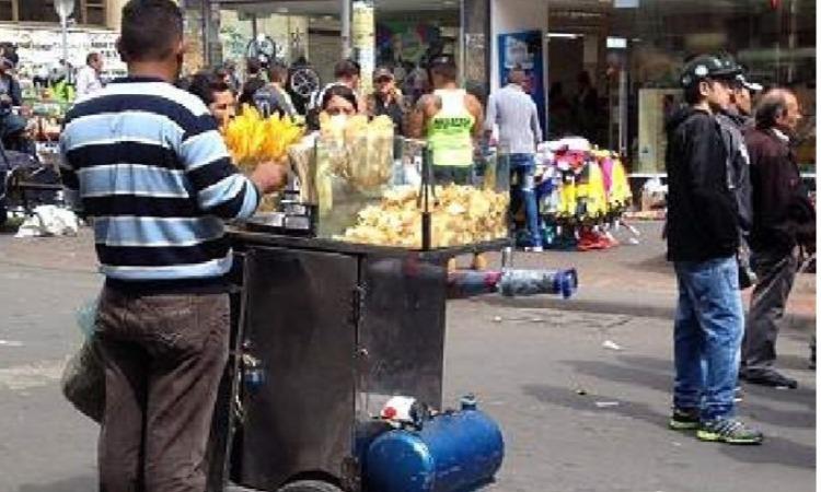 """Alerta Bogotá, """"positivo para empanada"""""""