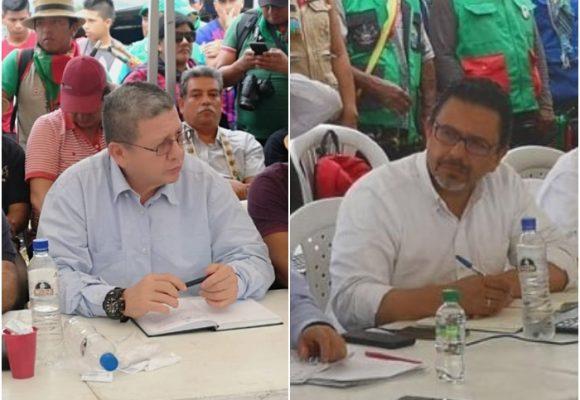 La presencia de Pablo Catatumbo que incomodó al comisionado de paz