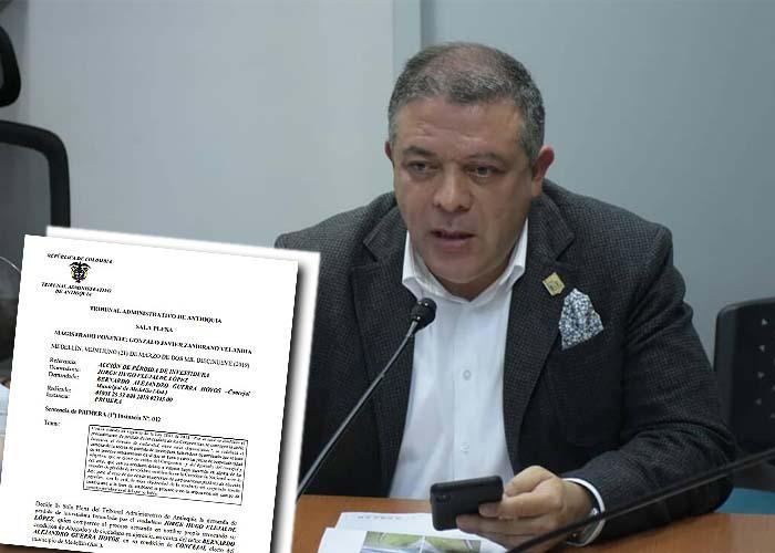 ¿El fin político de Bernardo Guerra?