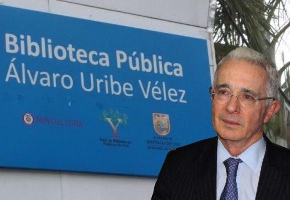 Uribe se desmarca de la biblioteca que lleva su nombre
