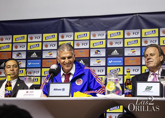 Carlos Queiroz destapa sus favoritos en la Selección