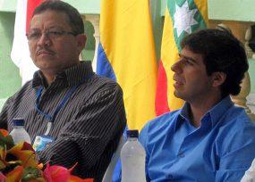 Álex Char y el gobernador Verano, los jefes de Carlos Prasca en Uniatlántico