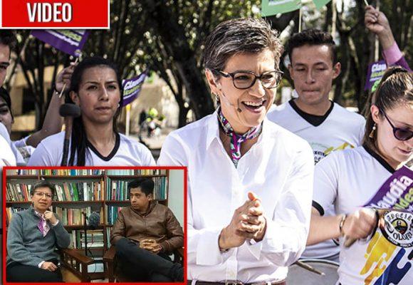 Claudia López destapa sus cartas para ser la candidata a la Alcaldía por los Verdes