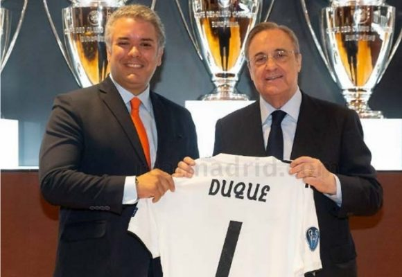 Iván Duque: la maldición del Real Madrid