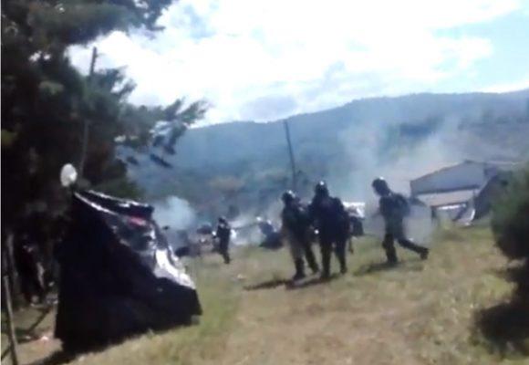 [VIDEO] Denuncian irrupción del ESMAD en campamento campesino protestante en el Cauca