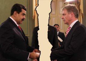 Otro embajador que sale a patadas de Venezuela