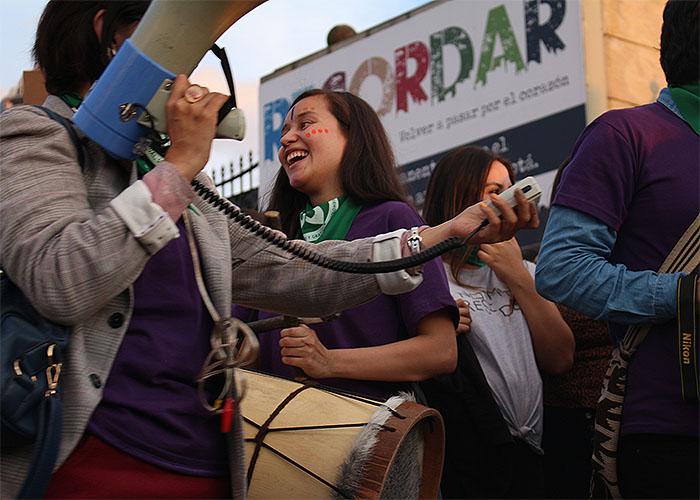 Feministas: juntas luchamos y juntas abortamos