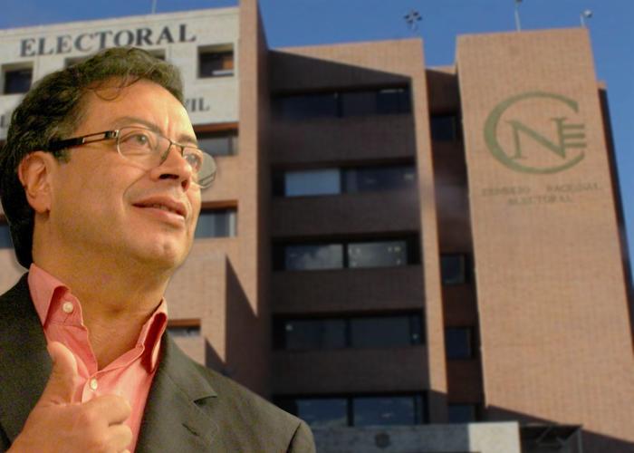 Dineros de campaña a Petro no serán embargados por el CNE