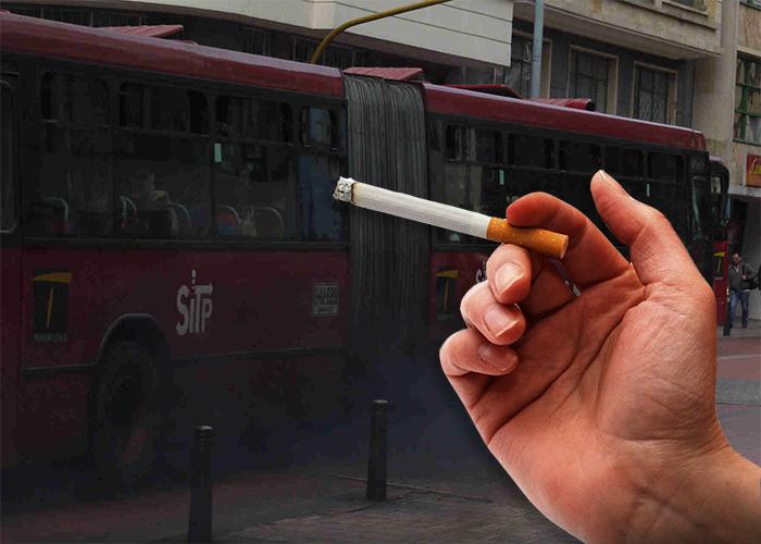 Montarse en TransMilenio es tan malo como fumarse 10 cigarrillos