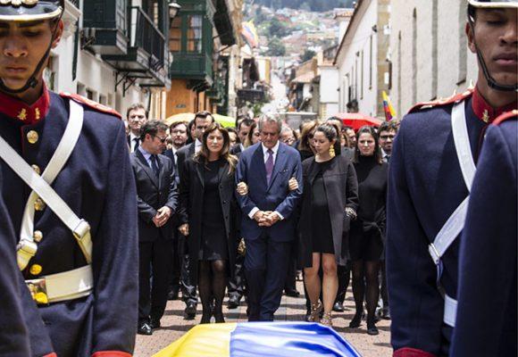 Funeral y honores a Gloria Zea