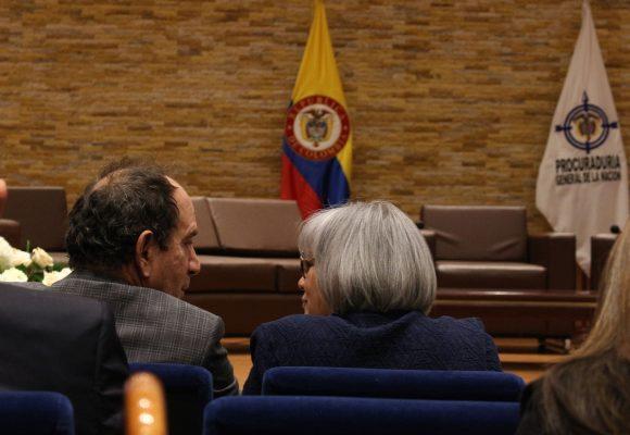 Homenaje a magistrada María Victoria Calle dio para discutir objeciones de Duque a la JEP