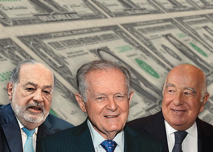 Ranking de los 10 multimillonarios de América Latina - Las2orillas