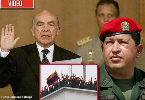 """No debemos descartar un baño de sangre en Venezuela"". Pedro Carmona Estanga"