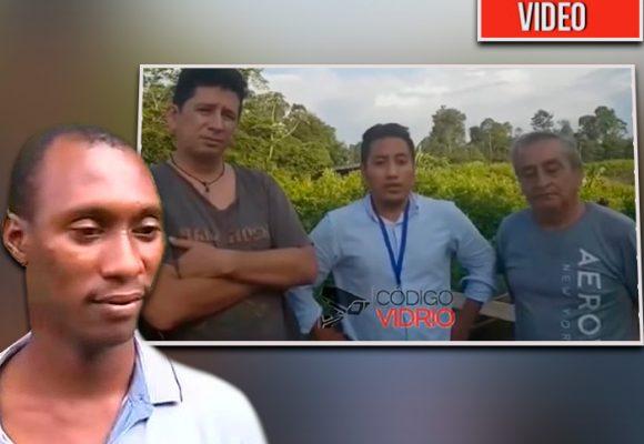 El video desconocido que grabó Guacho el día que secuestró a los tres periodistas ecuatorianos