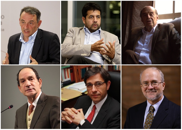 Los seis juristas que crearon la JEP
