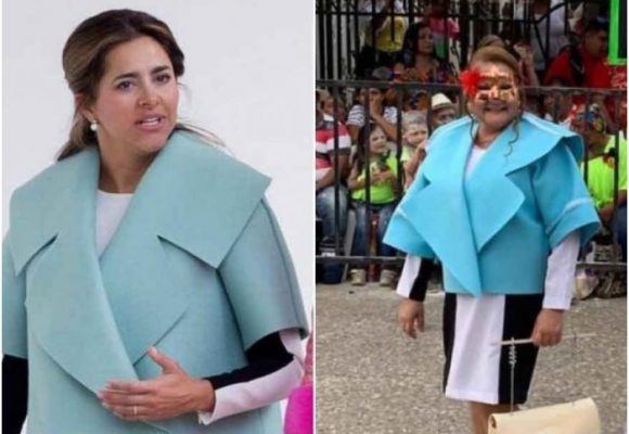Amenazan de muerte a mujer que se disfrazó de la primera dama