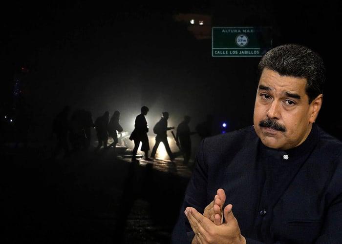 Por apagón, Maduro suspende jornada laboral y clases