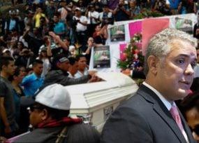 Rajada de Colombia a la hora de proteger a los defensores de DDHH