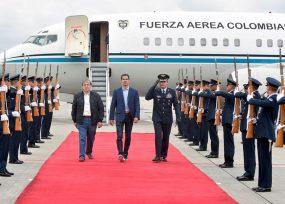 En aviones oficiales Guaidó realizó su periplo suramericano