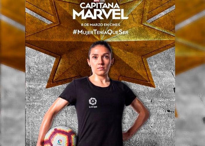 ¡La capitana Marvel también es colombiana!