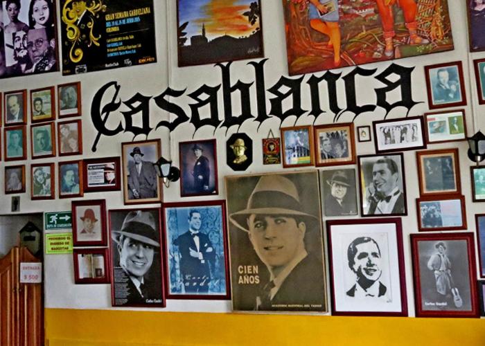 Un café en Sevilla, Cauca, con nombre de película: Casablanca