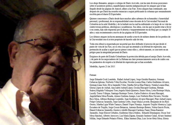 """""""Usaron mi nombre sin saberlo yo"""": Jorge Eduardo Cock"""