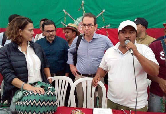 Delegación del gobierno antes de dar tranquilidad, irritó a indígenas del Cauca