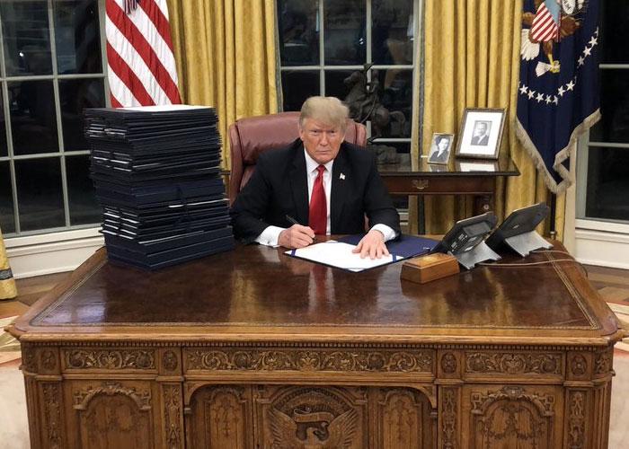 Los archienemigos de Trump, el vengador