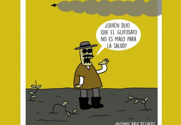 Caricatura: ¿Volverá el temible glifosato a azotar los campos colombianos?